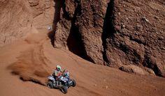 Las mejores imágenes de la octava etapa del Dakar
