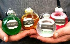 DIY Liquid Potions Ornaments