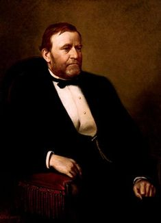 Official White House Portrait of Hiram Ulysses S. Grant - 18th President of the United States