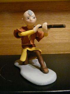 Awatar Legenda Aanga - Aang Gumpaste Fondant