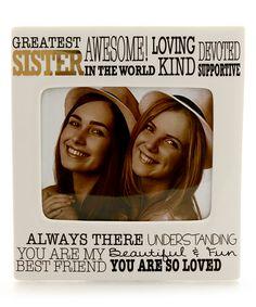 'Greatest Sister' Frame