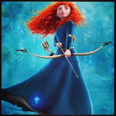 Disney Princess Challenge Day Two: The Princess you Like the Least: Merida from Brave. Don't get me wrong, Merida is awesome! Just, not an awesome PRINCESS.... She goes in my list of favorite heroines though.