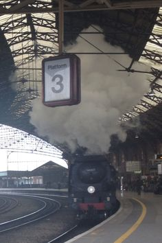 Steam train, Bristol Temple Meads