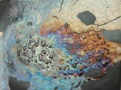 "Saatchi Art Artist Melinda Ilona Dovak; Painting, ""The world is falling into pieces"" #art"