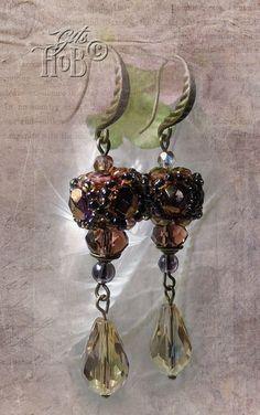 Ohrhänger - Ohrhänger Orientalisch Beaded Bead - ein Designerstück von git62 bei DaWanda