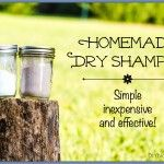 A Simple Natural Effective Homemade Dry Shampoo