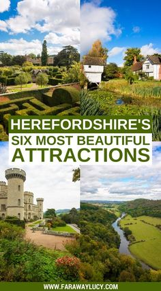 Herefordshire, a luscious county hidden in the West Midlands, is one of England's best-kept secrets - and here are its most beautiful attractions! Europe Travel Tips, Travel Guides, Places To Travel, Travel Destinations, Places To Visit, Travel With Kids, Family Travel, Herefordshire, Just Dream