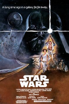 Star Wars I want this poster, framed, and hung in a movie room please.