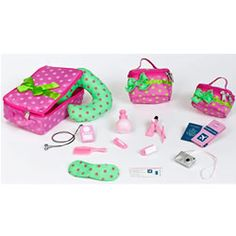 Our Generation Luggage and Travel Set