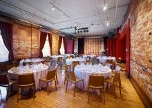 Gladstone Hotel is a Perfect Historic Wedding Venue in Toronto Wedding Dj, Hotel Wedding, Wedding Venues, Wedding Reception, Wedding Shit, Party Venues, Event Venues, Gladstone Hotel, Formal Dinner