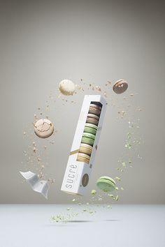 SUCRÉ Macarons - Daily Package Design InspirationDaily Package Design Inspiration |
