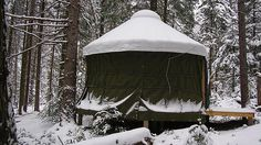 I dream of having a property with tents or yurts all around and hosting my own festivals.