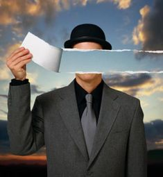 "Rene Magritte x ""Paper Gent"" - Supply Surf photography surrealism Rene Magritte x Rene Magritte, Max Ernst, Magritte Paintings, Art Parisien, Foto Transfer, Art Van, Contemporary Sculpture, Art Pages, Art Institute Of Chicago"