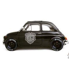 """utwo: """" Fiat 500 Custom © skunkmachine """""""