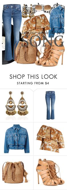 """Let your whole Life be a Song"" by lullulu ❤ liked on Polyvore featuring Dolce&Gabbana, Chloé and Francesco Russo"