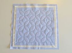 Orange Peel Quilting tutorial by Oh Fransson!