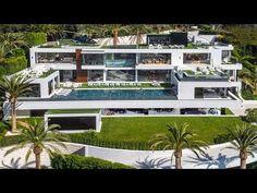 Bel Air Road, Bel Air Mansion, Dream Mansion, Houses In America, Modern Homes For Sale, Mega Mansions, Modern Mansion, Modern Houses, Belle Villa