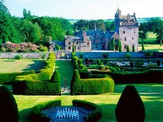 Guthrie Castle...I actually stayed here when it was rented to American oil men.