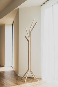 Tree Coat Stand, Floor Wood Rack, Coat Rack, Tree Rack, Standing Coat Rack Beautiful handmade coat stand made from carved plywood. It has a sleek, nature inspired design reminiscing of a birch tree growing in the forest. Decor your living room, office, dining room, kitchen, or bedroom in a natural, elegant way with this coat stand. Organise your home in a modern, nature inspired style.