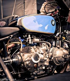 BMW RS Cafe Racer #motorcycles #caferacer #motos | caferacerpasion.com