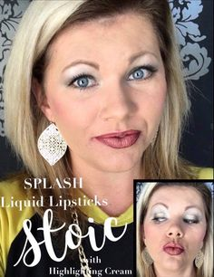 Younique Splash Liquid Lipsticks: Stoic