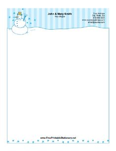 winter_1 stationery design