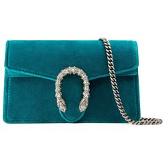 Gucci Dionysus Velvet Super Mini Bag (9.700.815 IDR) ❤ liked on Polyvore featuring bags, handbags, shoulder bags, accessories, peacock blue, wallets & small accessories, women, mini handbags, mini key ring and gucci shoulder bag