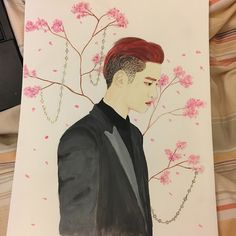 EXO🔥 Kyungsoo fanart (with watercolours)