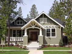 one story victorian homes | One Story Victorian One Story Craftsman Style Home Plans
