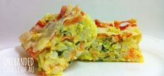 one handed cooks: baby & toddler food: cheesy vegetable rice slice recipe Toddler Meals, Kids Meals, Toddler Food, Toddler Recipes, One Handed Cooks, Baby Food Recipes, Cooking Recipes, Cheesy Rice, Vegetable Pie