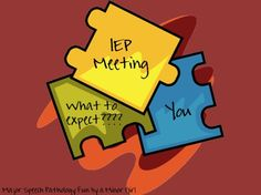 "Article, ""IEP? What is That? What Should I Expect?"" (from Playing With Words 365)"