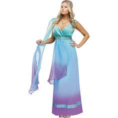 Sea+Queen+Costume+For+Women+-+OrientalTrading.com