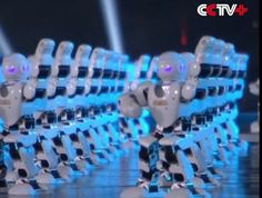 Celebrating the Chinese New Year with fireworks is so last century. Instead, why not 540 synchronized robotic dancers? China Central Television, Spring Festival, Chinese New Year, Dancers, Fireworks, Robot, Technology, Chinese New Years, Tech
