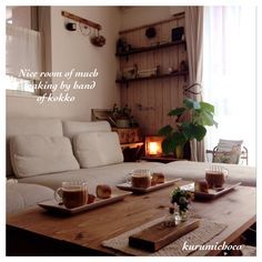 kurumichocoさんの、間接照明,ほっこりリビング,whithberryちゃんと♪,kokkomachaちゃんち,Lounge,のお部屋写真