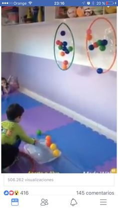 Throw balls into Super Fun Christmas Party Ideas for FamilyThis Pin was discovered by MagSorting by color is part of Preschool games - Gross Motor Activities, Toddler Learning Activities, Gross Motor Skills, Montessori Activities, Infant Activities, Educational Activities, Preschool Activities, Kids Learning, Therapy Activities