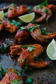 Crispy Red Curry & Lime Chicken Wings