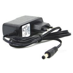 5V 1A Wall Power Adapter for Security Camera + More - Black (EU Plug)