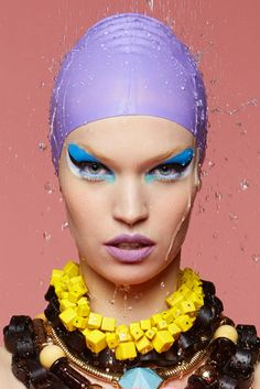 Luisa by Me, for Vulcan Magazine Makeup by Jeffrey English
