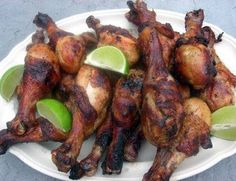 Grilled Beer Chicken Drumsticks