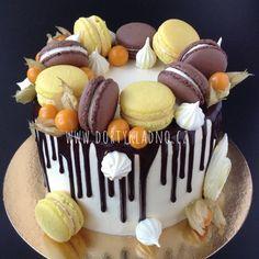 Moje dorty | Dorty, makronky, cupcakes, dětské, narozeninové, svatební Vegan Chocolate, Chocolate Peanut Butter, Veggie Recipes, Dessert Recipes, Veggie Food, Riced Veggies, Food Garnishes, Cupcake Cakes, Cupcakes