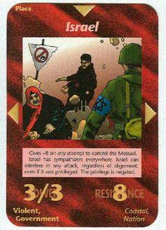 Illuminati card game - Israel