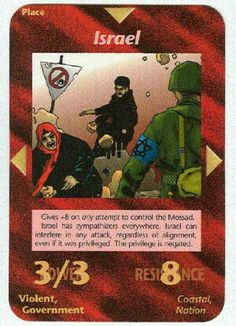 Illuminati card game - Israel