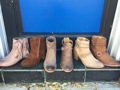 Booties on Sale!!! $24.99  #madisonsbluebrick #downtownhotsprings #booties #sale