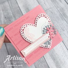 Valentine Greeting Cards, Small Cards, Heart Cards, Anniversary Cards, Stampin Up Cards, Happy Valentines Day, Note Cards, Bookmarks, Wedding Cards