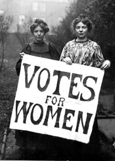 "vintagechampagnefever: ""The Suffragettes These amazing women suffered beatings, imprisonment, abuse, indeed gave their lives, so that we could vote on the same equal footing as men. We owe it to these women to take part in the political process - the..."