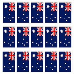 Australian Flag Bunting  Australia  Australian Curriculum