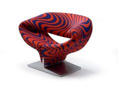 Poltrona imbottita RIBBON CHAIR by Artifort | design Pierre Paulin