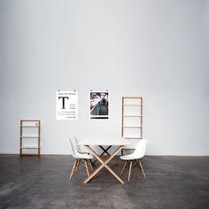 Arc Table 180, musta ryhmässä Huonekalut / Pöydät / Ruokapöydät @ ROOM21.fi (112471)