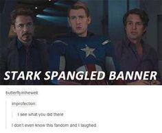 tumblr avengers starl spangled banner Tumblr takes on the Avengers (32 Photos)