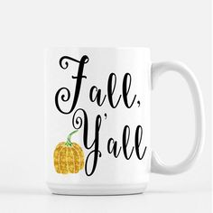 What a cute little fall themed mug for all your hot apple cider and pumpkin spice lattes to chill in in style. Super festive, and I love all things that correspond to season. -Xoxo, Ari